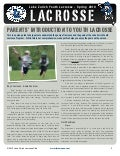 2010 Lake Zurich Youth Lacrosse Club Parents' Guide
