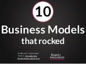 10 business models that rocked - by @nickdemey @boardofinno (boardofinnovation.com)