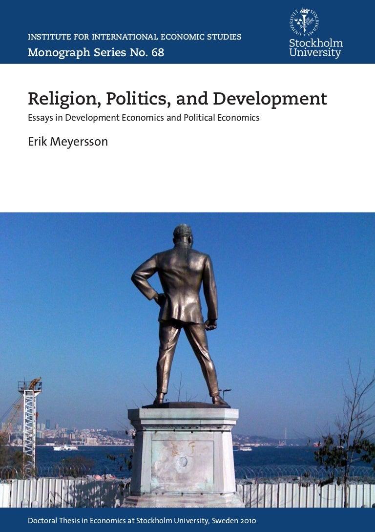 Essays on religion