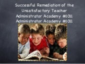 Successful Remediation of the Unsat...