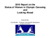 2010 Status Of Women In Olympic Can...