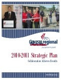 2010-2011 Genesee Regional Chamber of Commerce Strategic Plan