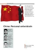 Personalentwicklung in China