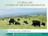 2010 Taste of the Hawaiian Range CT...