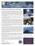 Winter 2010 Nevada Wilderness Project Newsletter
