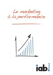 Le marketing à la performance