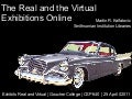 The Real and the Virtual: Exhibitions Online