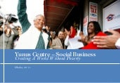 Yunus Centre Social Business Presen...