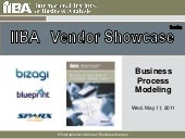 2011 05-11 IIBA Vendor Webinar- Business Process Modeling