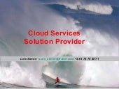 2011.06.24. - Cloud Services Soluti...