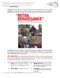 RETAIL RENAISSANCE Trend Briefing - September 2011