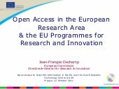 Open Access in the ERA and FP7