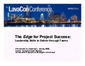 The Edge for Project Success: Leade...