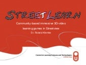 StreetLearn: Community-based immers...
