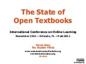 2011-11-09 The State of Open Textbo...