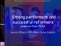 Strong performers and successful reformersLessons from PISA - Aurora Illinois 14th Work Force Summit