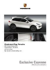 2011 Porsche Cayenne For Sale In Vi...