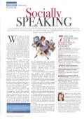 Socially Speaking: 7 Tips For Leveraging Your Professional Profile On LinkedIn In Irish Tatler January 2011