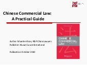 20110118 chinese commercial law (r&p)
