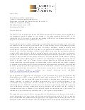 Healthcare Quality Coalition letter