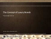 The Concept of Luxury Brands - Pres...