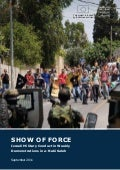 Show of Force: Israeli Military Conduct in Weekly Demonstrations in a-Nabi Saleh