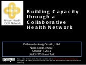 Capacity Building through a Collabo...