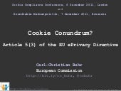 Cookie Conundrum? Article 5(3) of t...