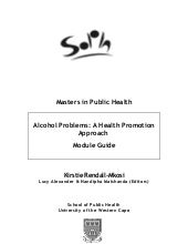 Alcohol Problems: A Health Promotio...