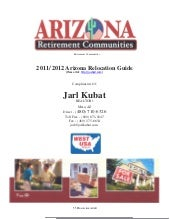 2011 - 2012 Arizona Real Estate Rel...