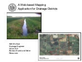 Drainage District Web Application