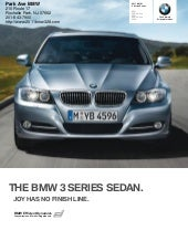 2011 BMW 328i Sedan  - Park Ave Acu...