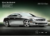 2011 Mercedes Benz CLS550 Coupe Sil...