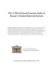Russia--2011 FDA Global Electoral F...