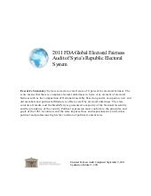Syria--2011 FDA Global Electoral Fa...