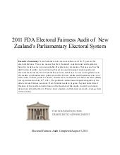 New Zealand--2011 Global FDA Electo...