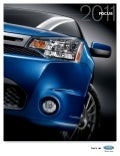 2011 Focus Sedan Brochure