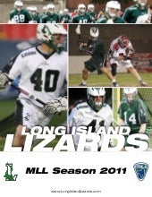 Long Island Lizards 2011 Media Guide