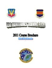 2011 mtf course brochure