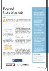 2011 NREI Beyond Core Markets Survey