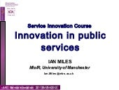 Public Service Innovation - 2011 ve...