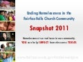 Ending Homelessness in the Fairfax-Falls Church Community: Snapshot 2011