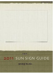 2011 Predictions (For Sun Signs bas...