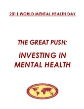 2011 world mental health day document