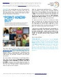Février 2012: POINT-KNOW-BUY (FR)