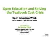 2012-03-06 Open Education and Solvi...