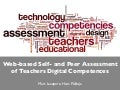 Web-based Self- and Peer Assessment of Teachers Digital Competences