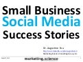 Small Business Social Media Success Stories