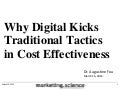 Why Digital Kicks Traditional Marketing in Cost Effectiveness by Augustine Fou