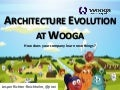 Architecture Evolution at Wooga (AWS Cloud Computing for Developers,)